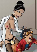 Generator Rex, Dr. Holiday and sexy Breach banging