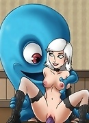 Real sex deathmatch featuring Monsters vs. Aliens